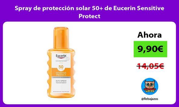 Spray de protección solar 50+ de Eucerin Sensitive Protect