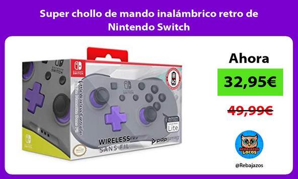 Super chollo de mando inalámbrico retro de Nintendo Switch