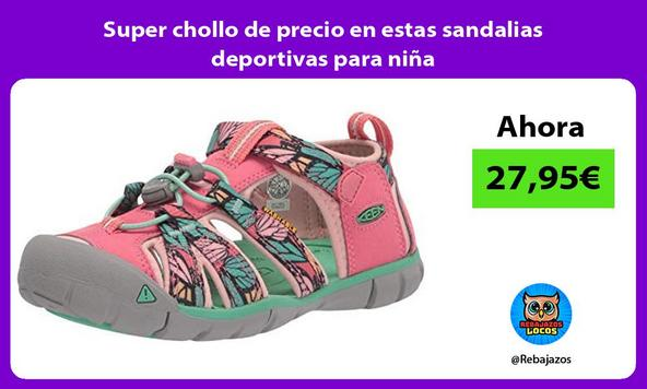 Super chollo de precio en estas sandalias deportivas para niña