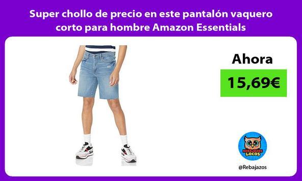 Super chollo de precio en este pantalón vaquero corto para hombre Amazon Essentials