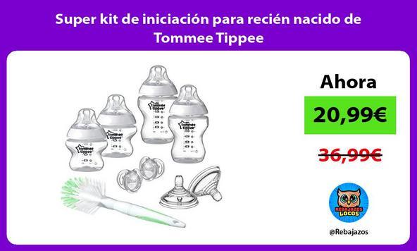 Super kit de iniciación para recién nacido de Tommee Tippee