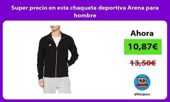 Super precio en esta chaqueta deportiva Arena para hombre