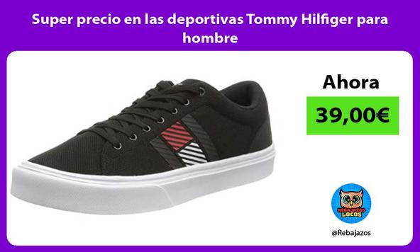 Super precio en las deportivas Tommy Hilfiger para hombre