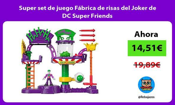 Super set de juego Fábrica de risas del Joker de DC Super Friends