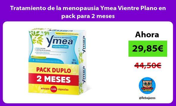 Tratamiento de la menopausia Ymea Vientre Plano en pack para 2 meses