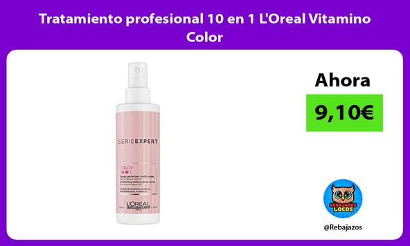Tratamiento profesional 10 en 1 L'Oreal Vitamino Color
