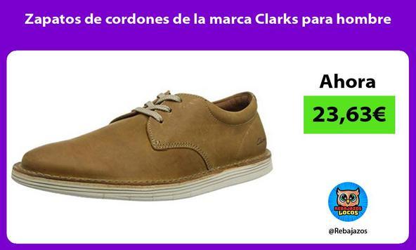 Zapatos de cordones de la marca Clarks para hombre