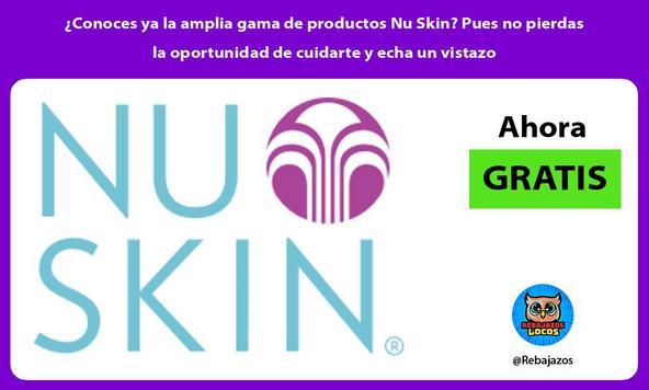 ¿Conoces ya la amplia gama de productos Nu Skin? Pues no pierdas la oportunidad de cuidarte y echa un vistazo