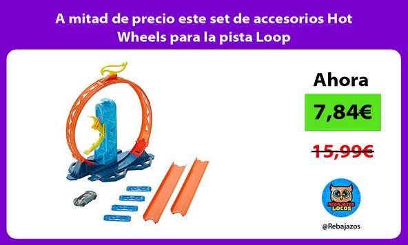 A mitad de precio este set de accesorios Hot Wheels para la pista Loop