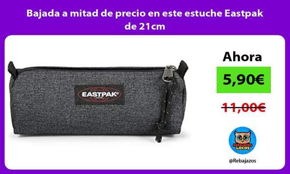 Bajada a mitad de precio en este estuche Eastpak de 21cm