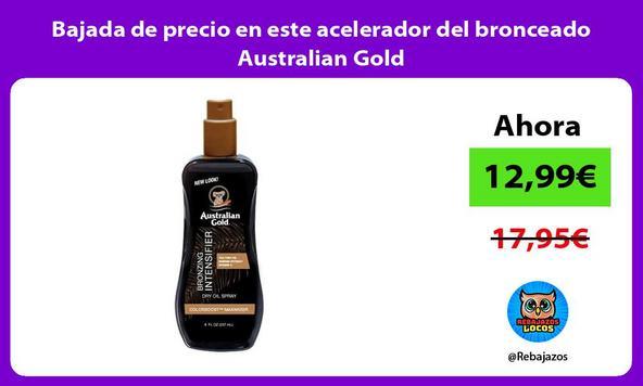 Bajada de precio en este acelerador del bronceado Australian Gold