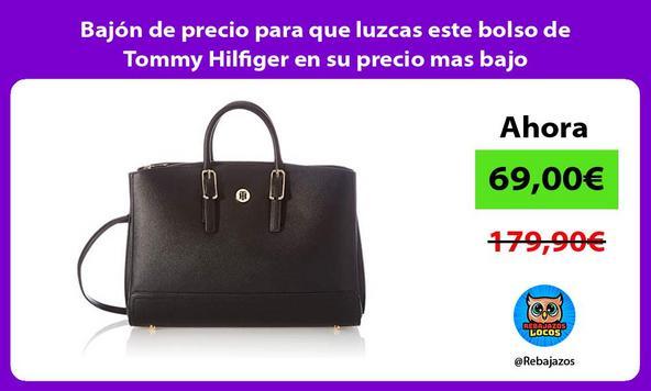 Bajón de precio para que luzcas este bolso de Tommy Hilfiger en su precio mas bajo