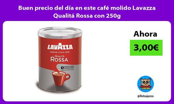 Buen precio del día en este café molido Lavazza Qualitá Rossa con 250g
