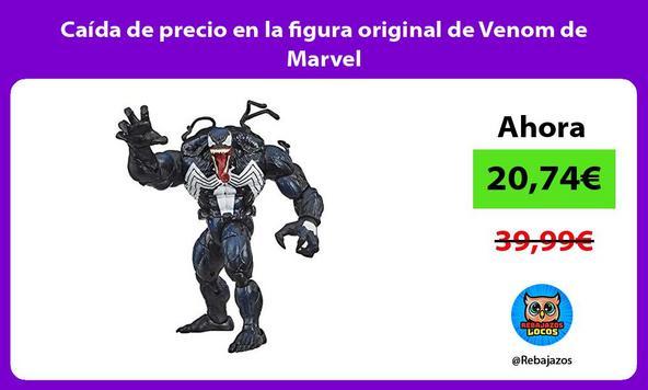 Caída de precio en la figura original de Venom de Marvel