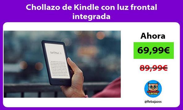 Chollazo de Kindle con luz frontal integrada