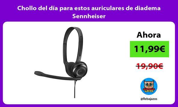 Chollo del día para estos auriculares de diadema Sennheiser