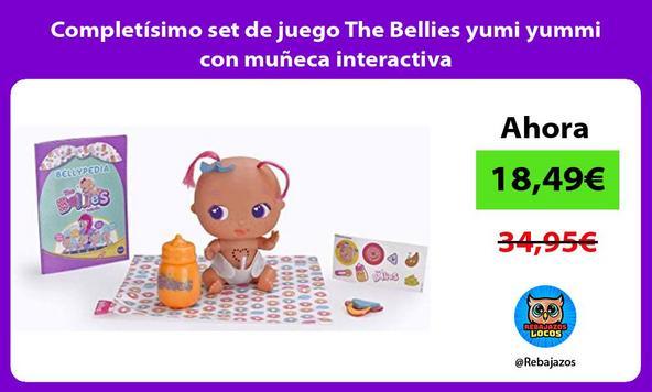 Completísimo set de juego The Bellies yumi yummi con muñeca interactiva