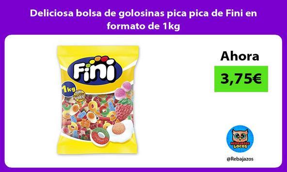 Deliciosa bolsa de golosinas pica pica de Fini en formato de 1kg