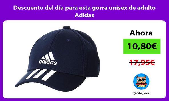 Descuento del día para esta gorra unisex de adulto Adidas