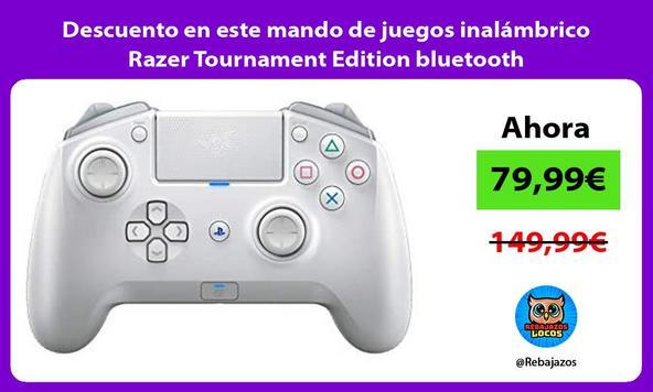 Descuento en este mando de juegos inalámbrico Razer Tournament Edition bluetooth