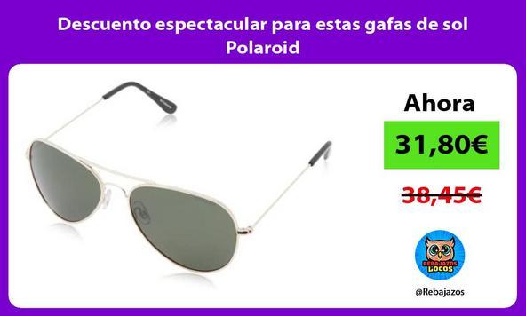 Descuento espectacular para estas gafas de sol Polaroid