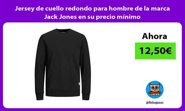 Jersey de cuello redondo para hombre de la marca Jack Jones en su precio mínimo