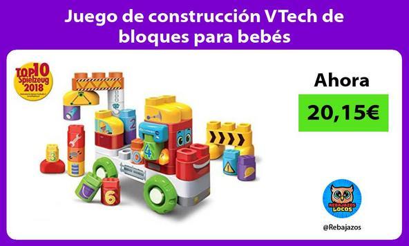 Juego de construcción VTech de bloques para bebés