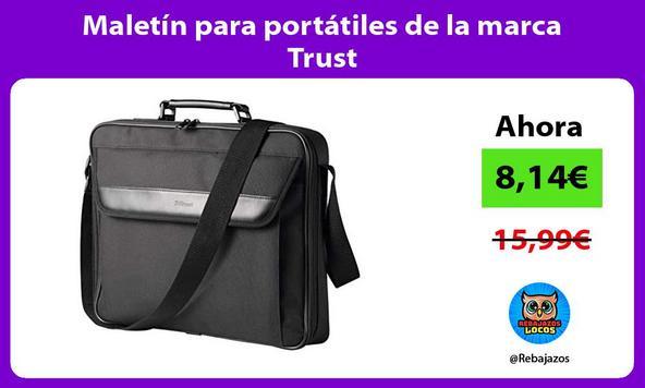 Maletín para portátiles de la marca Trust