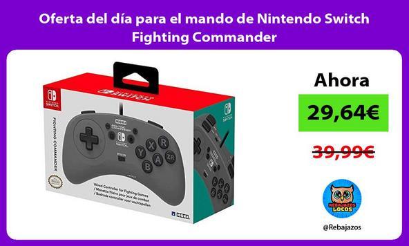 Oferta del día para el mando de Nintendo Switch Fighting Commander