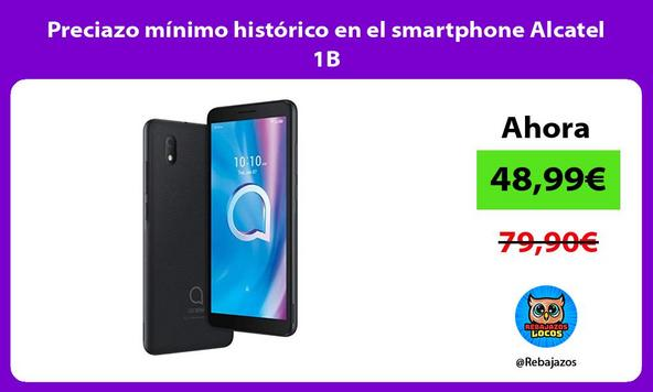 Preciazo mínimo histórico en el smartphone Alcatel 1B