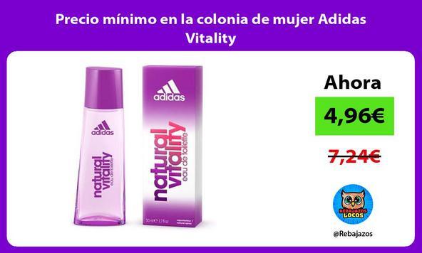 Precio mínimo en la colonia de mujer Adidas Vitality