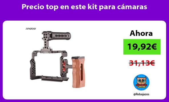 Precio top en este kit para cámaras