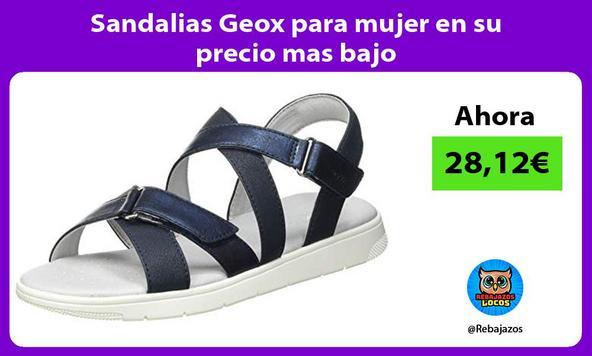 Sandalias Geox para mujer en su precio mas bajo