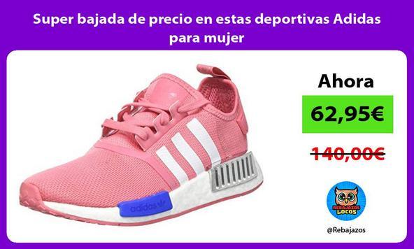 Super bajada de precio en estas deportivas Adidas para mujer