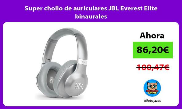 Super chollo de auriculares JBL Everest Elite binaurales