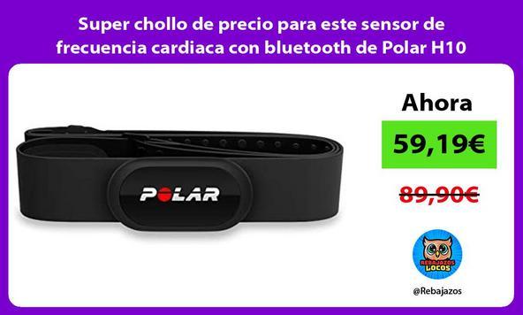 Super chollo de precio para este sensor de frecuencia cardiaca con bluetooth de Polar H10