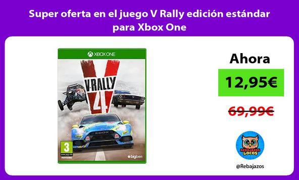 Super oferta en el juego V Rally edición estándar para Xbox One
