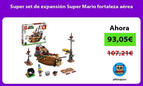 Super set de expansión Super Mario fortaleza aérea