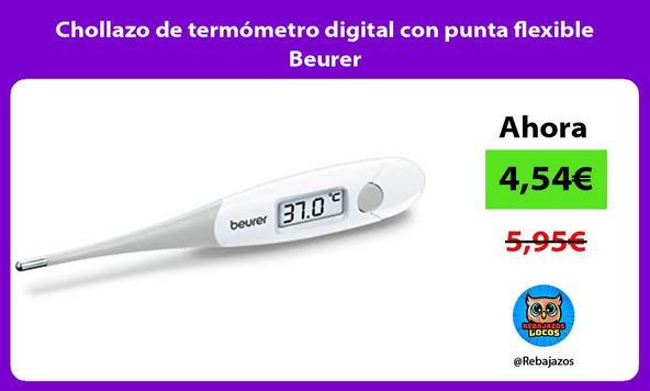Chollazo de termómetro digital con punta flexible Beurer
