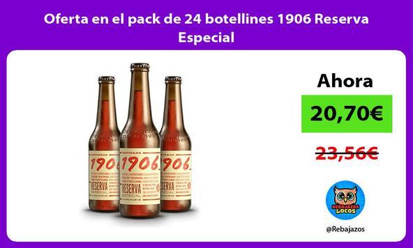 Oferta en el pack de 24 botellines 1906 Reserva Especial