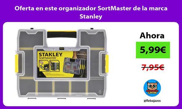 Oferta en este organizador SortMaster de la marca Stanley