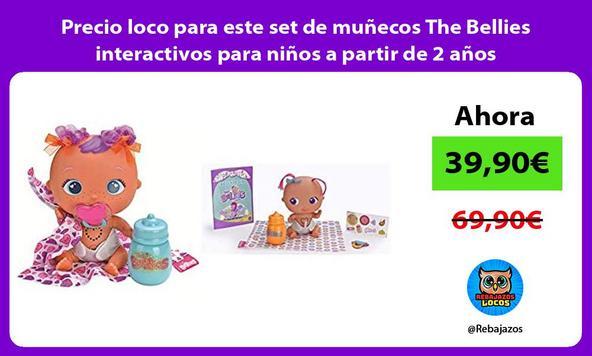 Precio loco para este set de muñecos The Bellies interactivos para niños a partir de 2 años
