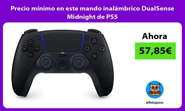 Precio mínimo en este mando inalámbrico DualSense Midnight de PS5
