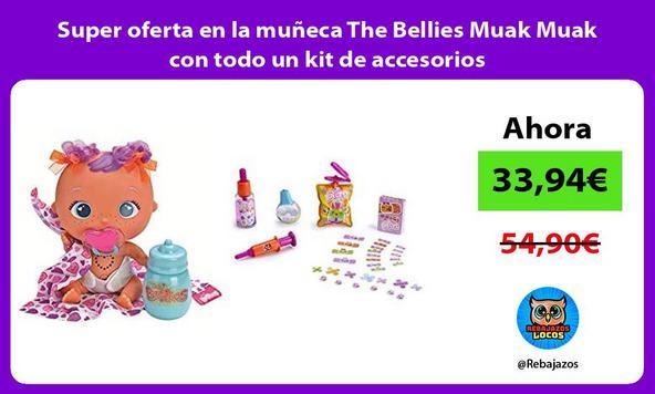 Super oferta en la muñeca The Bellies Muak Muak con todo un kit de accesorios