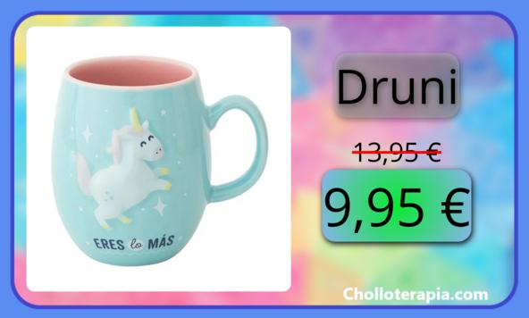Taza de cerámica de Mr Wonderful con unicornio en oferta flash solo hoy